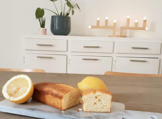 Le cake au citron du dimanche